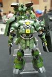 Modèle et jouets mobiles de nombre d'actions de Gundam de costume image libre de droits