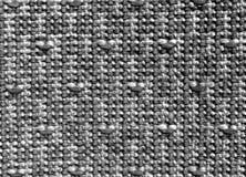 Modèle et texture noirs et blancs de tapis Photo libre de droits