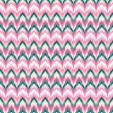 Modèle ethnique d'ikat sans couture de vecteur Images stock