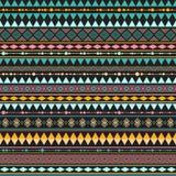 Modèle ethnique de vintage sans couture Photographie stock