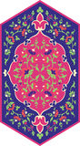 Modèle ethnique floral Image stock