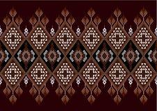 Modèle ethnique géométrique illustration de vecteur