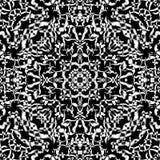 Modèle ethnique sans couture de kaléidoscope Illustration de Vecteur