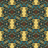 Modèle ethnique tribal  Photo stock