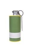 Modèle explosif de jaune de la fumée M18, armée d'arme, fuz synchronisé standard Photo stock
