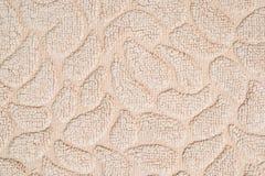 Modèle extérieur de tissu de plan rapproché au vieux fond brun de texture de tapis de tissu Photo stock