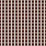 Modèle extérieur sans couture avec l'ornement symétrique Lignes et texture diagonales répétées de cercles Fond géométrique illustration stock