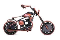 Modèle fabriqué à la main de moto faite sur commande Photo stock
