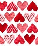 Modèle fait de coeurs. Jour de valentines Photo stock