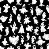 Modèle fantasmagorique de fantôme de partie de vecteur de Halloween illustration stock