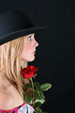 Modèle femelle photographie stock