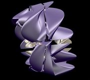 Modèle, filigrane, cadre d'armure illustration stock