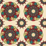 Modèle floral abstrait de spirograph Images libres de droits