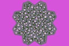 Modèle floral avec petite Violet Flowers Images stock