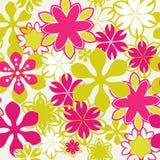 Modèle floral brillamment sans couture Photo libre de droits