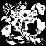 Modèle floral d'Abstarct Photos libres de droits