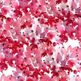 Modèle floral d'aquarelle illustration de vecteur