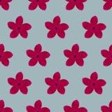 Modèle floral d'aquarelle Photo libre de droits