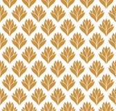 Modèle floral d'arabesque sans couture Art Deco Style Background Texture de fleur d'abrégé sur vecteur illustration libre de droits
