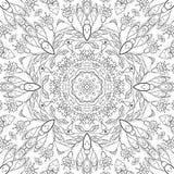 Modèle floral d'ensemble sans couture Photo libre de droits