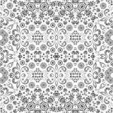 Modèle floral d'ensemble sans couture Photographie stock libre de droits