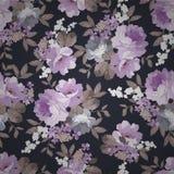 Modèle floral de beau vintage sans couture Illustration Stock