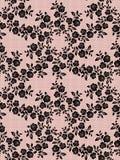 Modèle floral de dentelle illustration libre de droits