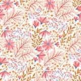 Modèle floral de ressort Photographie stock libre de droits