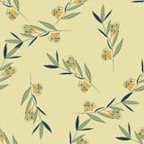 Modèle floral de ressort Images stock