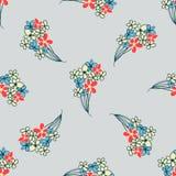 Modèle floral de saveur Photographie stock