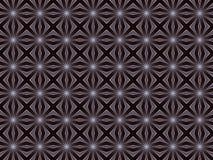 Modèle floral de textile Modèle stylisé des fleurs grises Photographie stock libre de droits