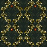 Modèle floral de vecteur Image libre de droits
