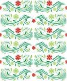 Modèle floral de vecteur Photo libre de droits