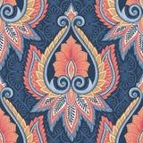Modèle floral ethnique Image libre de droits