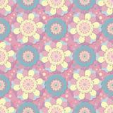 Modèle floral géométrique sans couture illustration de vecteur