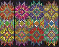 Modèle floral mexicain Photos libres de droits