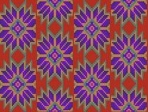 Modèle floral mexicain Image libre de droits