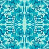Modèle floral sans couture décoratif Photo libre de droits