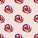 Modèle floral sans couture 11 d'aquarelle Photographie stock libre de droits