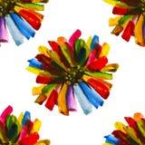 Modèle floral sans couture 13 d'aquarelle Image stock