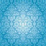 Modèle floral sans couture de damassé Image stock