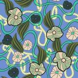 Modèle floral sans couture - illustration Photo stock