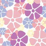 Modèle floral sans couture, texture de fond de vintage avec des fleurs et oiseaux Modèle floral de colorfull pour le textile illustration de vecteur