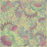 Modèle floral stylisé de ressort, fond de tissu Photo libre de droits