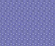 Modèle formé par spirale Photo libre de droits