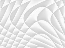 Modèle futuriste blanc et gris-clair Conception monochromatique FO photographie stock libre de droits