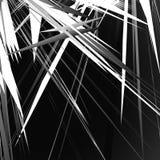 Modèle géométrique énervé et approximatif Irregular, formes aléatoires chaotiques illustration stock
