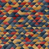 Modèle géométrique Image stock
