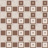 Modèle géométrique Images stock