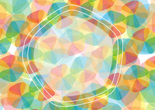 Modèle géométrique abstrait Photo libre de droits